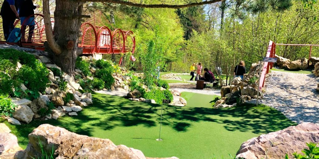 adventure golf minigolf biosphärengebiet